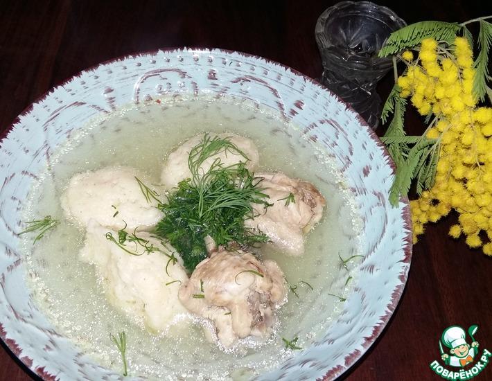 Рецепт: Куриный суп Бабушкин