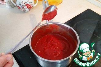 Рецепт: Кетчуп по-домашнему