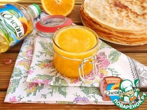 Orange sauce for crepes
