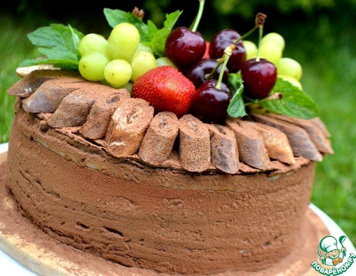 Рецепт: Блинный праздничный торт