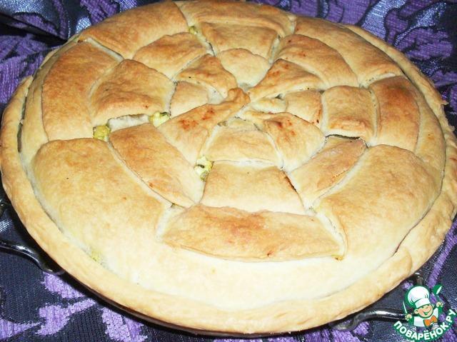 Песочное тесто для несладкого пирога рецепт