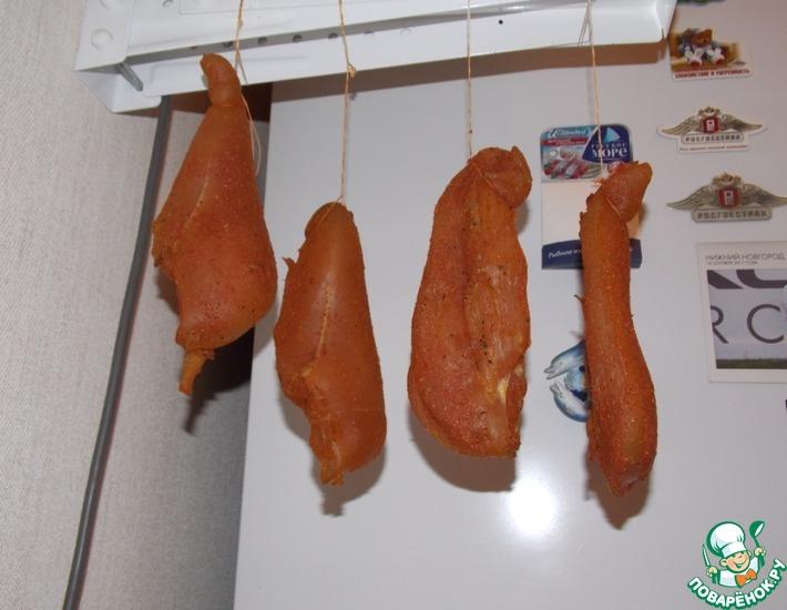 Рецепт: Куриная бастурма