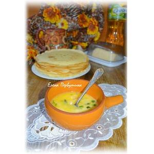 Горячий сырный соус