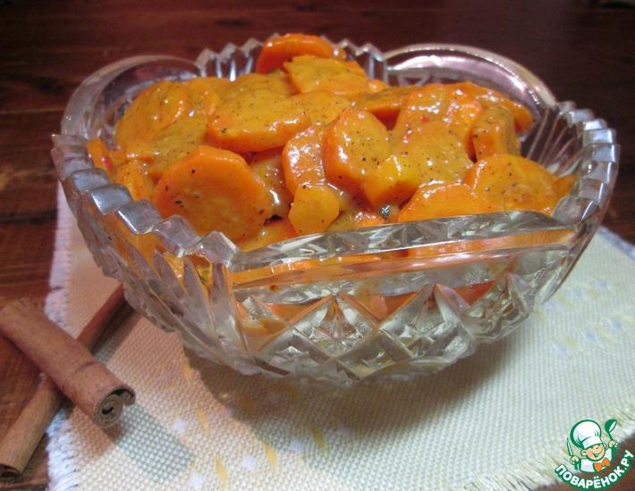 Рецепт: Апельсиновая морковь