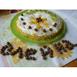 Блинный торт Тропики