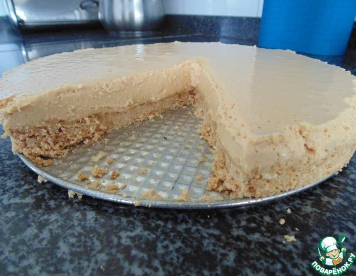 Рецепт: Торт с вареной сгущенкой
