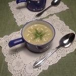 Суп-пюре с машем и брокколи