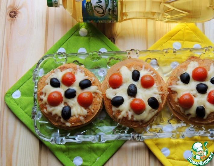 Рецепт: Блинные пирожные Прованс
