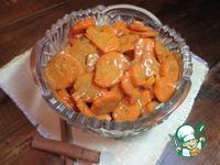 Апельсиновая морковь ингредиенты