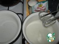 Крем для тортов Мокрое безе ингредиенты