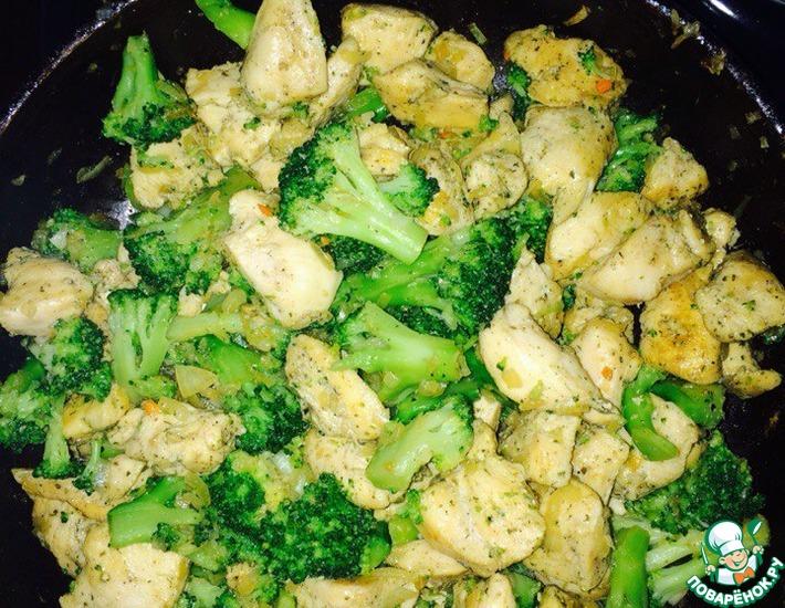 Что можно приготовить с капустой брокколи и мясом — photo 7