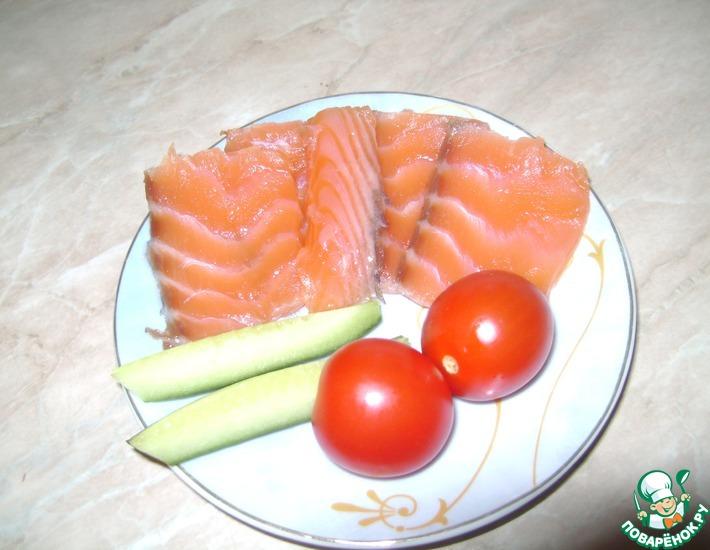 Рецепт: Солено-маринованная рыба От шефа