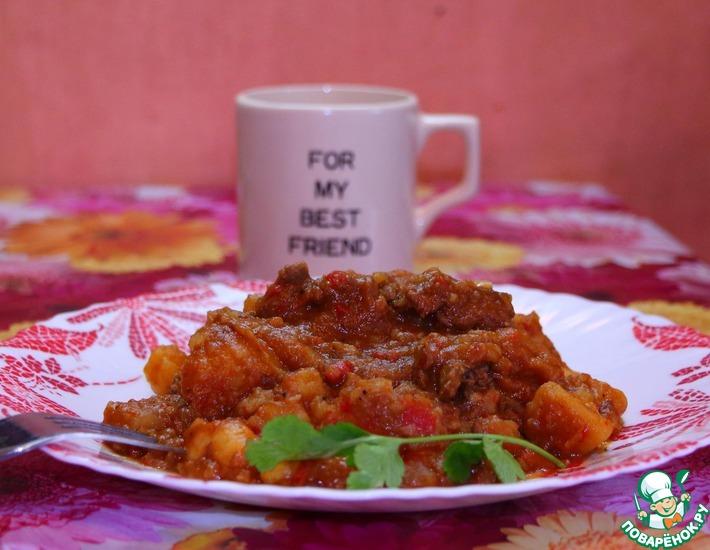 Рецепт: Бограч-гуляш