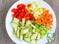 Овощной суп с фальшивыми фрикадельками ингредиенты