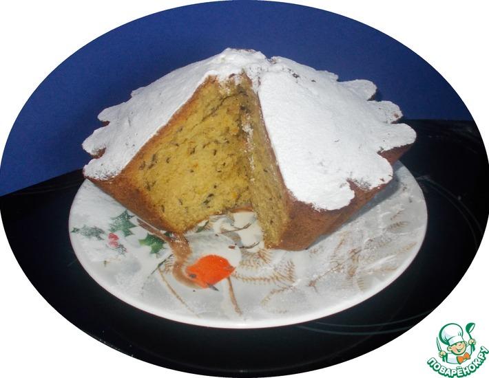 Рецепт: Британский тминный кекс