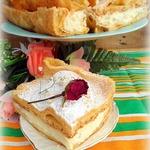 Заварной пирог-торт Карпатка