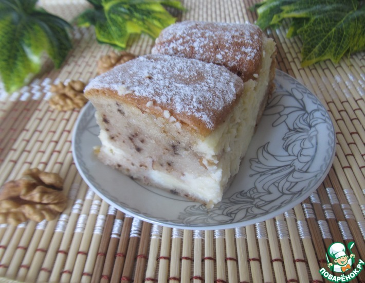 Рецепт: Пирог Стеганое одеяло
