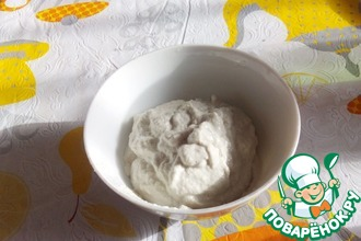 Рецепт: Веганский постный соус-майонез