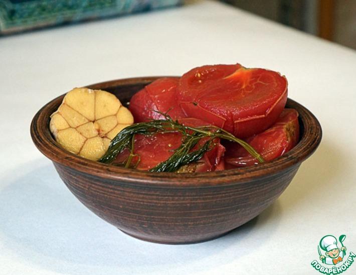 Рецепт: Малосольные помидоры