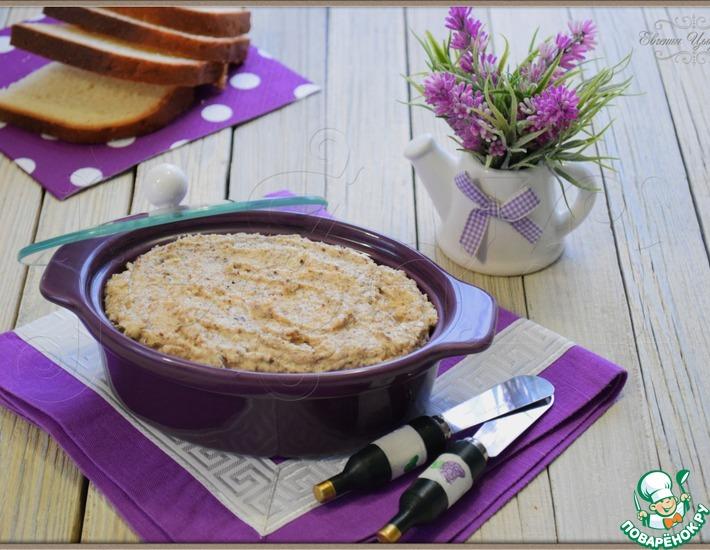 Рецепт: Ореховый паштет Щедрость