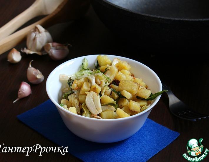 Рецепт: Жареный картофель в итальянском стиле