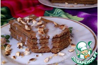 Рецепт: Торт Вареная сгущенка