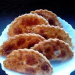 Чебуреки с тилапией – кулинарный рецепт