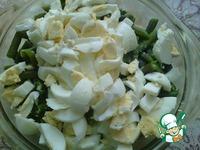 Салат из стручковой фасоли с яйцами ингредиенты