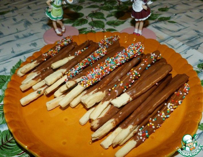 Рецепт: Печенье Покки