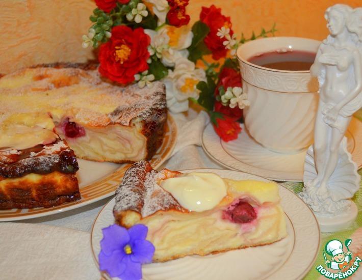 Рецепт: Запеканка-пирог Кружева