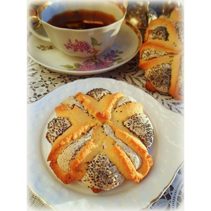 Печенье Маково-кунжутный цветок