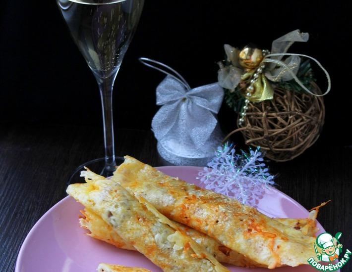 Рецепт: Закуска из сыра и киноа