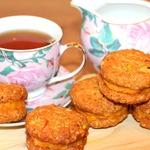 Овсяное печенье с фисташками Солнышко
