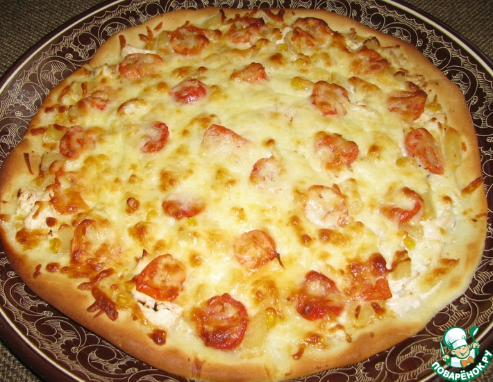 Рецепт: Пицца детская и не только