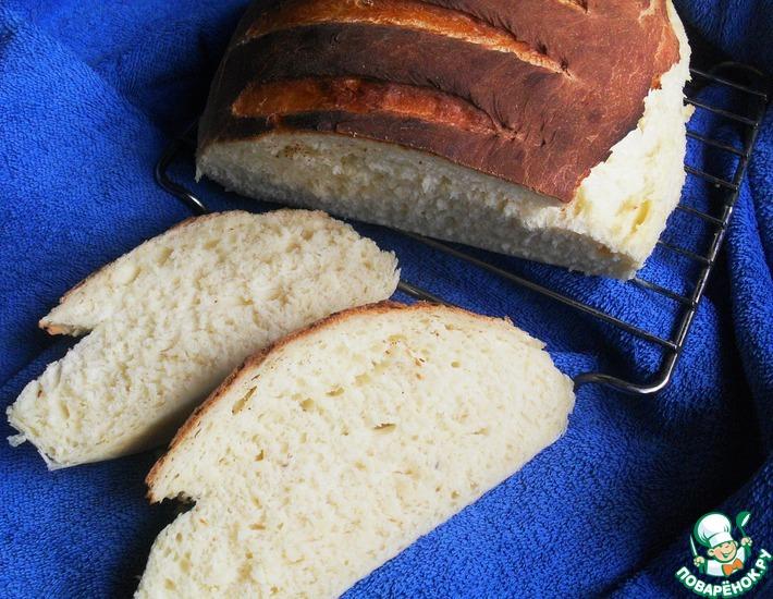 Рецепт: Сырный французский хлеб