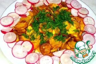Рецепт: Картофельные чипсы