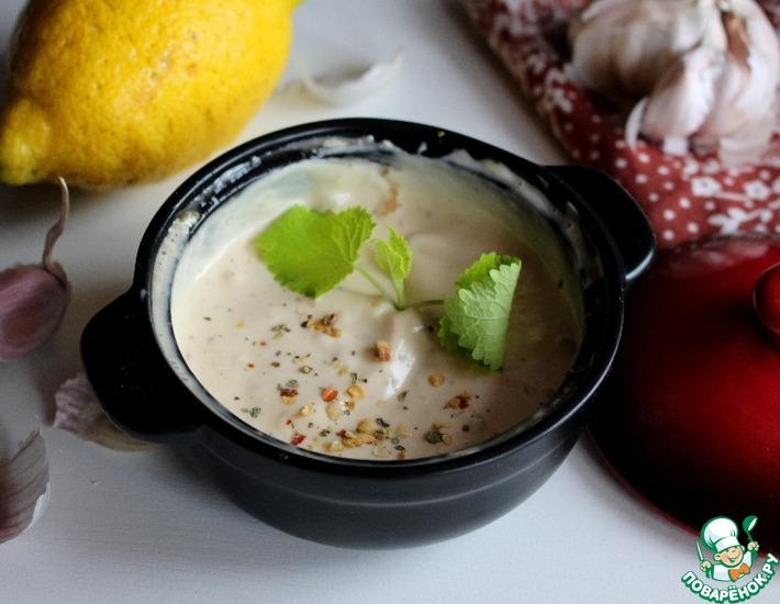 Рецепт: Лимонный соус к рыбе