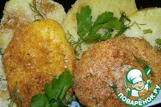 Рецепт: Запеченный картофель В песке