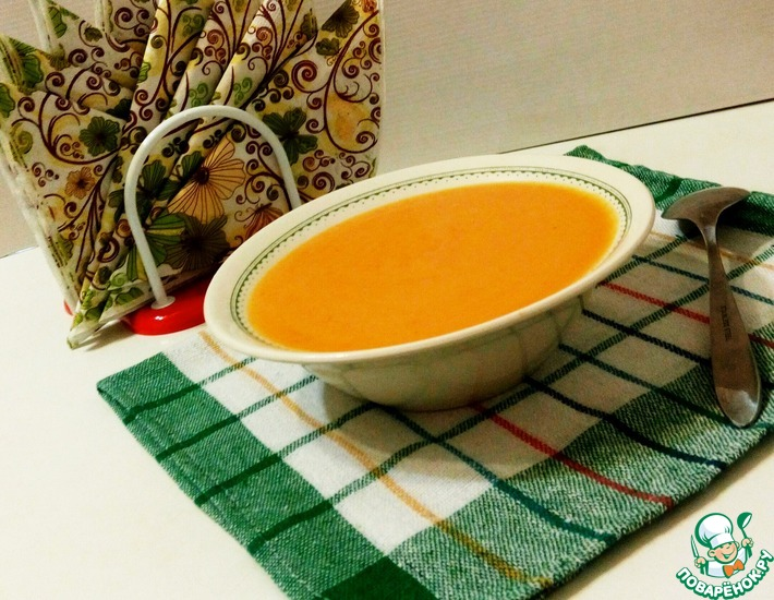 Рецепт: Чесночный крем-суп