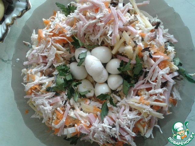 салат ласточкино гнездо рецепт с фото пошагово звезда реальных пацанов