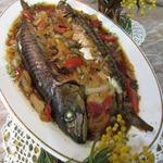 Скумбрия запеченная Рыбка Женькиной мечты