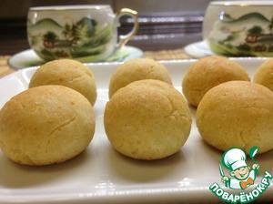 Творожно-рисовое печенье – кулинарный рецепт