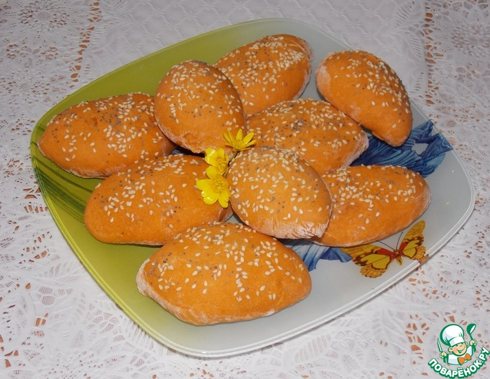 Рецепт: Пирожки Томатные