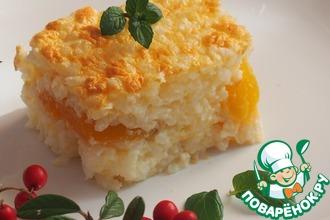 Рецепт: Рисовая запеканка с абрикосами