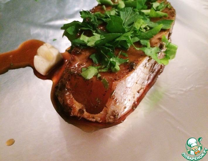 Рецепт: Рыба в соевом соусе