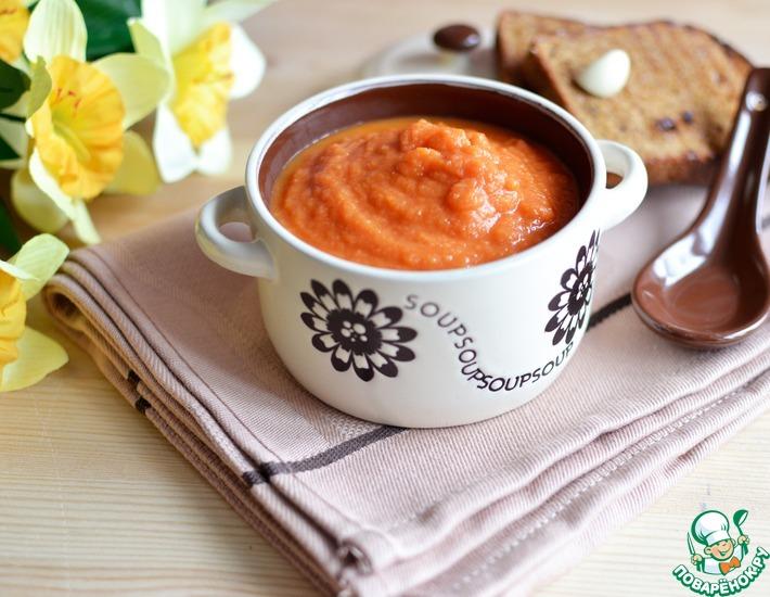 Рецепт: Овощной суп на томатном соке