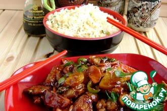 Рецепт: Свинина по мотивам Гуанчжоу