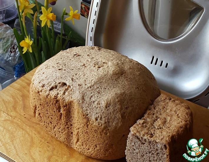 Рецепт: Ржаной хлеб на кефире