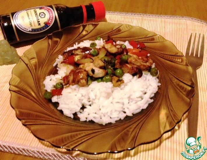Рецепт: Свинина в китайском стиле
