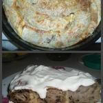 Пирог заливной из лаваша